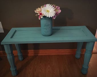 Super cute hand painted small table