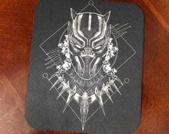 Marvel Black Panther Movie Mousepad