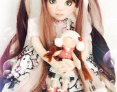 Limited edition  40cm fabric doll