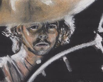 Phil Taylor - Motorhead - Limited Edition Print from pastel portrait
