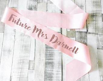 Personalised Hen Party sash- Wedding- Hen Party- Bachelorette- Birthday- Bridal Shower- Wedding- Bride- Mother of the Bride- Bridesmaid