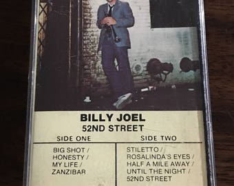 Billy Joel 52nd Street Cassette