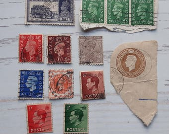 Lot of Postage and Revenue Post stamp,British Post stamp,India Postage Stamp