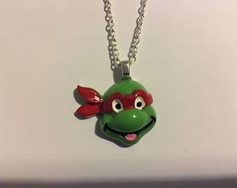 Teenage Mutant Ninja Turtle TMNT Necklace   U42