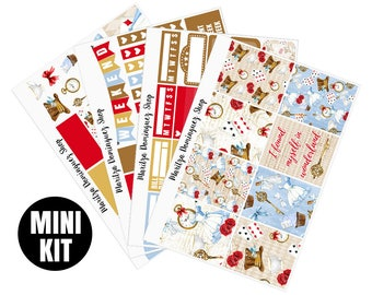 Wonderland Mini Weekly Kit | 95+ Planner Stickers