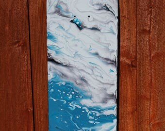 "Skateboard Art - ""Vessel of Wind"""