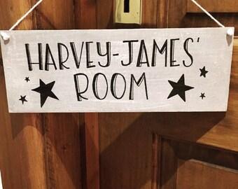 Personalised Nursery Kids Room Sign