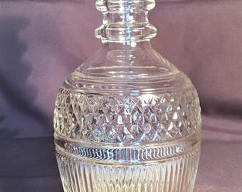 Vintage Seagrams 1776 Decanter made by Tiffany & Co Molded