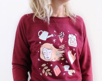 """Autumn Mood"" sweatshirt"