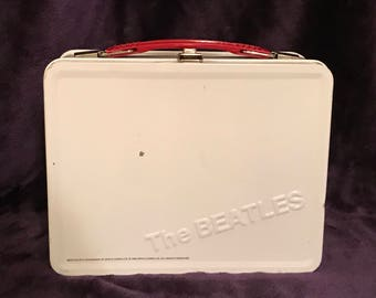 Beatles WHITE ALBUM Lunch Box Music Collectible
