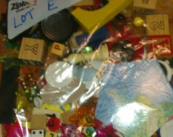 one pound toy game peace token junk drawer Lot E