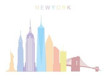 New York Pastel