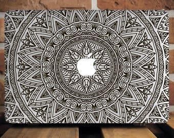 Indian Flowers New Macbook Pro 13 Inch Case Macbook Hard Case MacBook Air 11 Cover MacBook Pro 13 Case Macbook Air 11 Floral Macbook WCm087