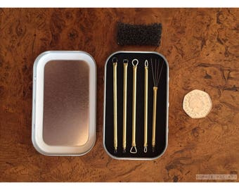 Micro Sculpting tool kit - fine detail loop tools