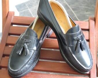 Sebago Bristol Tassel Loafers UK 10 Ivy Prep New Soles & Heels