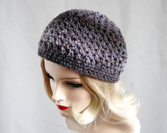 Knit Hat, Crochet Hat, Purple Hat, Womens Gift, Womens Clothing, Womens Hats, Mothers Day Gift,  Slouch Beanie, Hat Knitted, Knitted Hat 010