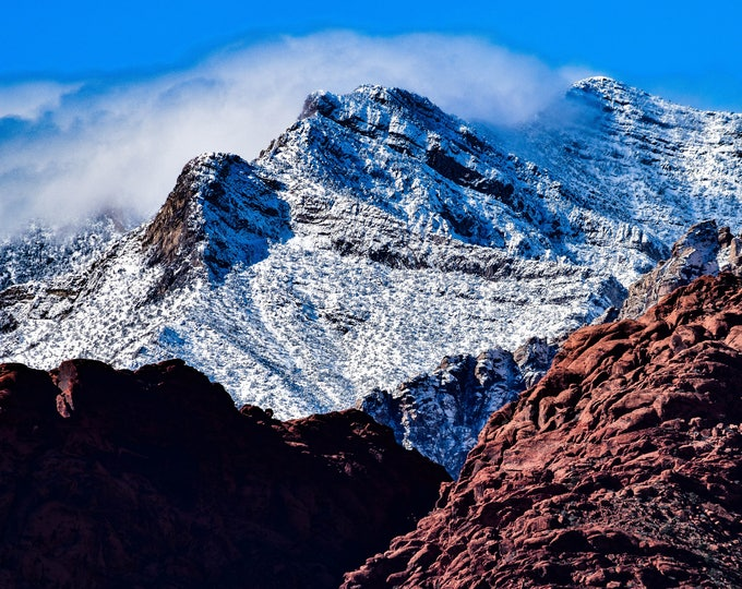 Red Rock Canyon, Red and White
