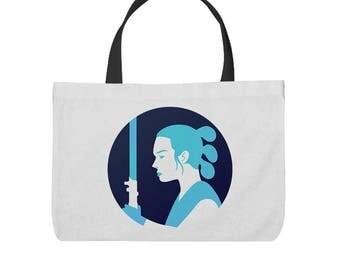 Star Wars The Last Jedi Rey Inspired Tote Bag!