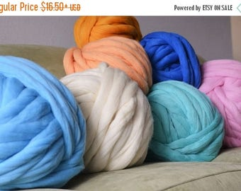Merino Wool, Chunky Yarn,Super Chunky wool,Jumbo Yarn,Extreme Knitting Yarn, Bulky Yarn,Gift for Her,Knitting Yarn