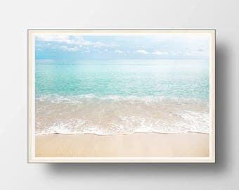 Ocean Print, Ocean Wall Art, Beach Decor, Ocean Decor, Beach Wall Art, Beach Photography, Coastal Decor, Beach Art, Digital Download, Ocean