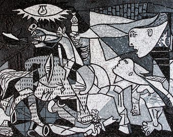 Mosaic Reproduction Guernica Picasso