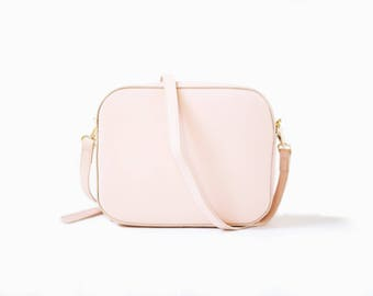 Margot Camera Bag // Pink bag // Pink Camera Bag // Leather Bag // Crossbody Bag // Leather backpack
