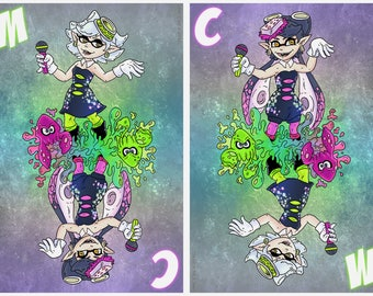 Callie and Marie 12x18 FlipCard Poster