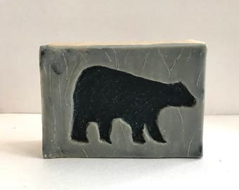 Handmade Soap, Hand Carved Soap, Bear Soap