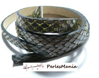FAUX leather PYTHON STYLE 10 by 2MM A0207 meter approximately 1.15