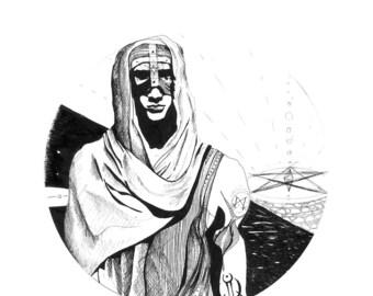 Nomad-drawing digital print limited