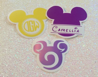 Mickey Mouse decal / disney decal / Mickey decal