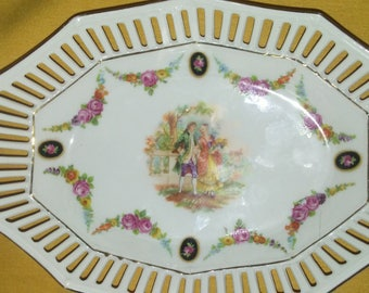 Hand painted german porcelain