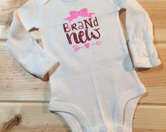 Brand New Baby, Baby Girl, Baby Boy, Onsie
