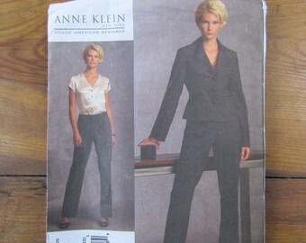 Vogue V1041 pattern Anne Klein pants suit Size EE Uncut