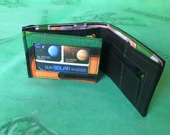 Inner Tube small wallet, Vegan Wallet, Upcycled Wallet, Fair Trade Wallet,
