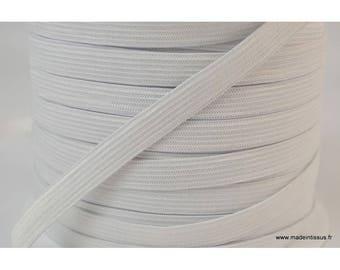 Mesh 11mm white elastic