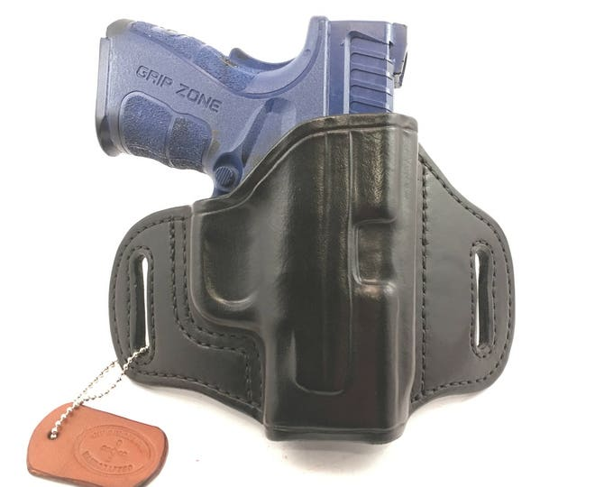 Springfield XD SC MOD 2 .40/9 (zero cant) - Handcrafted Leather Pistol Holster