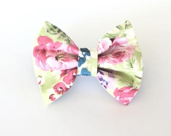 Dog Collar Bow Tie, Dog Bow Tie, Collar bow tie, bow tie for collar, bow tie for collar, hidden strap, sewn