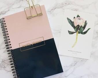 Weekly Planner Notebook