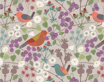 Lewis And Irene Fabric The Hedgerow Hedgerow On Natural A251.1
