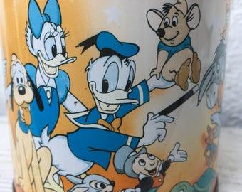 Walt Disney Tin Money Bank