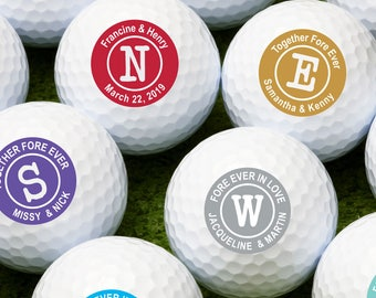 Classic Initial  Personalized Golf Balls - Bulk Price Available (MIC-JM2892686)