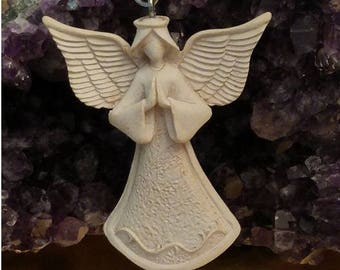Angel Blessing Key Chain & Angel Blessing Message Card