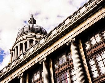 Nottingham Photography - Council Building - Architecture - Nottingham Print - Nottingham - Fine Art Photography - Council Landscape - 0121
