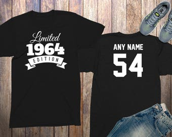 54th birthday gifts for men shirts 54 year old birthday men 1964 birthday shirt birthday gifts for him