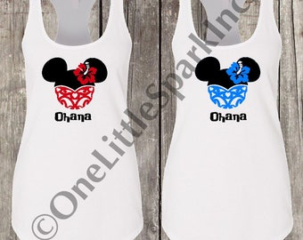 Ohana shirt Disney ohana family matching shirt lilo and stitch shirt stitch family shirt ohana means family shirt minnie ohana