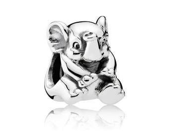 Authentic Pandora Lucky Elephant Charm Bead