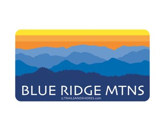 Blue Ridge Mountains Decal