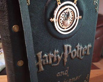 Harry Potter and the Prisoner of Azkaban Book Leather Handmade H-Q