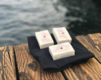 "Hibiscus Bar - All Natural Vegan ""Agua Fresca"" Soap"